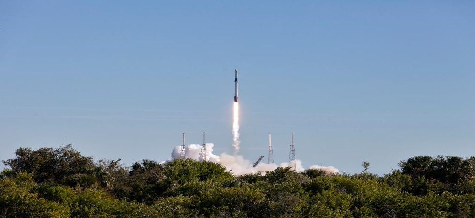The rocket was loaded with supplies, science experiments and food for the astronauts (Photo: Twitter)
