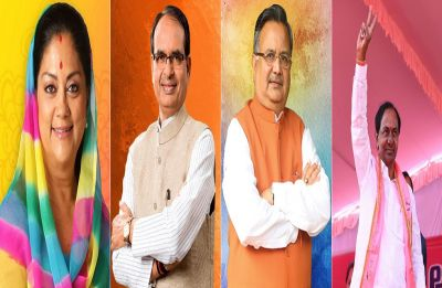 Poll Of Exit Polls: Congress claims Rajasthan, close fight in MP, setback for BJP in Chhattisgarh