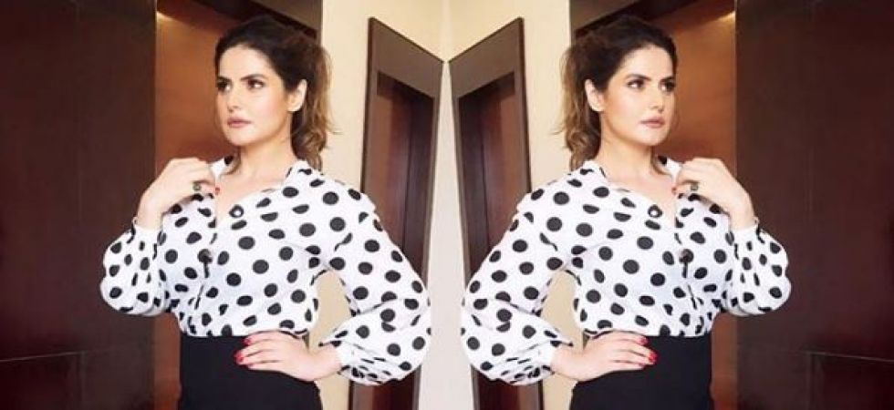Zareen Khan files FIR against former manager for allegedly sending insulting messages (Instagrammed photo)