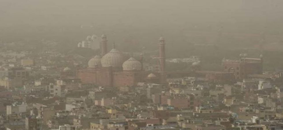 In the Anand Vihar area, the Air Quality Index (AQI) PM 2.5 was at 333 (very poor category) and PM 10 at 308 (very poor category)