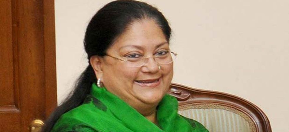 """Sharad Yadav had said that Vasundhara Raje needed some rest since she became """"very fat"""" than earlier. (PTI Photo)"""