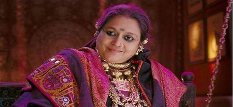 Supriya Pathak believes nothing can beat the cinema experience (Instagrammed photo)