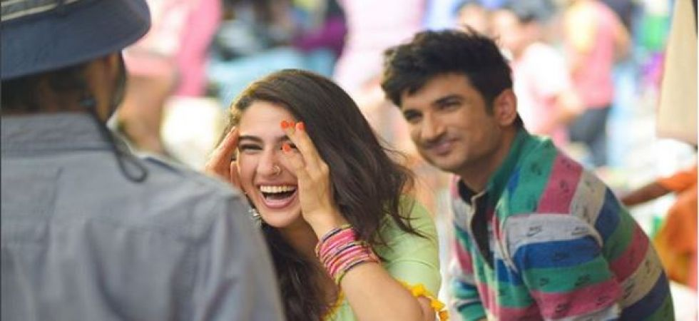Sushant Singh Rajput, Sara Ali Khan-starrer registers a  moderate start at box-office collection (Instagrammed photo)
