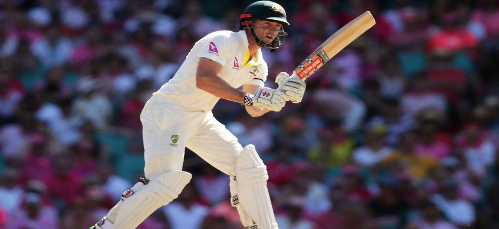 Shaun Marsh registered his first double-digit score in nine months in the Adelaide Test against India. (Image credit: Twitter)