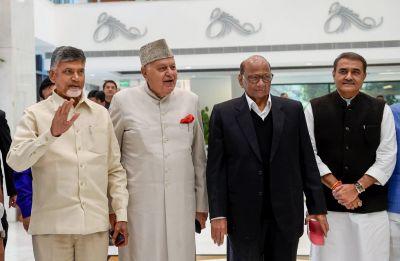 To take on BJP, Opposition parties huddle in Delhi, Rahul Gandhi slams PM Modi