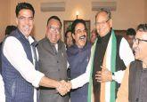 Ashok Gehlot, Sachin Pilot urge Congress workers to maintain peace in Rajasthan