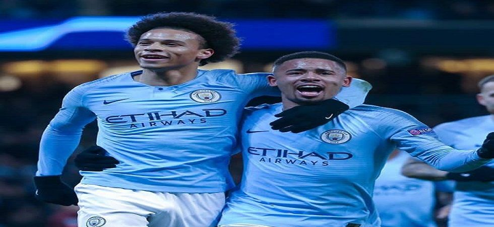 Leroy Sane scored a brace as Manchester City topped Group F in the UEFA Champions League. (Image credit: Leroy Sane Twitter)