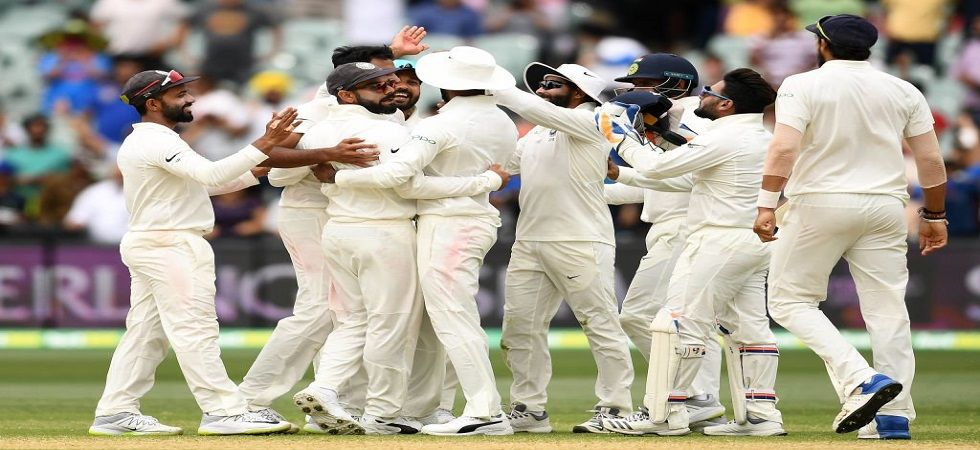 India struck at regular intervals but Australia managed to reach 277/6. Get India vs Australia 2nd test live score and updates here. (Image credit: Twitter)