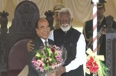 Zoramthanga sworn-in as new Mizoram chief minister