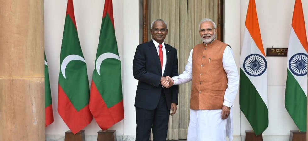 India extends USD 1.4 billion assistance to Maldives (Photo: Twitter/@MEA)
