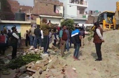 Noida: 2 children killed in school wall collapse, UP CM Yogi Adityanath orders probe