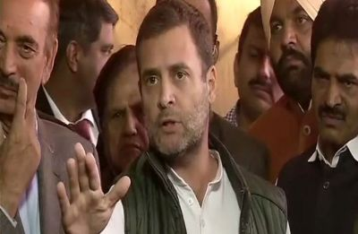 Won't let PM Modi sleep until he announces farm loan waiver, says Rahul Gandhi