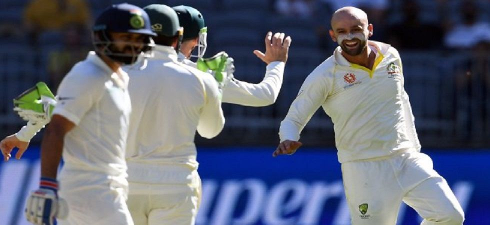 Nathan Lyon has dismissed Virat Kohli seven times in Tests, which is the most-ever by any bowler. (Image credit: Twitter)