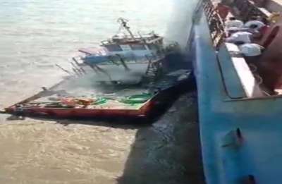 Gujarat: Four people missing after explosion on board a boat at Piram Bet island in Bhavnagar district