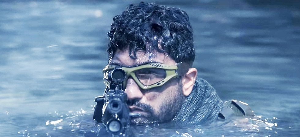 Vicky Kaushal goes into army mode with Uri/ Image: Film poster