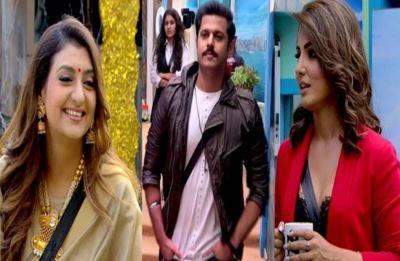 Bigg Boss 12, Day 100 Highlights: Hina Khan, Juhi Parmar and Ranveer enter house for special task