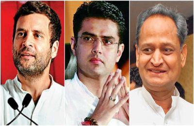 Amid disagreement over portfolio allocation, Ashok Gehlot meets Congress president Rahul Gandhi