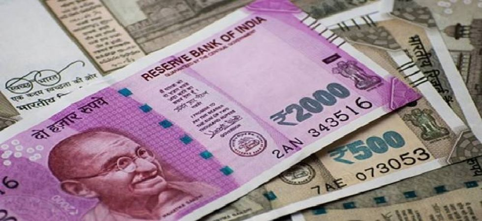 Rupee closes 8 paise up against US dollar (file photo)