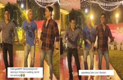 Salman Khan shakes a leg with brothers Sohail and Arbaaz at Christmas bash, gets trolled for dancing