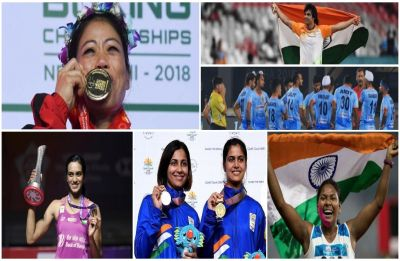 Yearender 2018: Asian Games and CWG glory, Hockey Heartbreak, PV Sindhu and Mary Kom shine