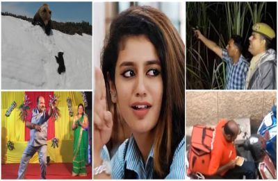 Yearender 2018: From 'wink wink' to 'thain thain', 10 videos that took Internet by storm in 2018