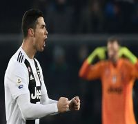 Juventus create new points record in Serie A, Cristiano Ronaldo scores a brace