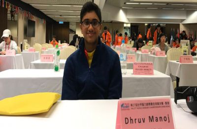 Indian-origin Singapore student scripts history, wins gold medals at World Memory Championships