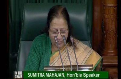 Lok Sabha Speaker suspends 26 AIADMK members for disrupting house proceedings