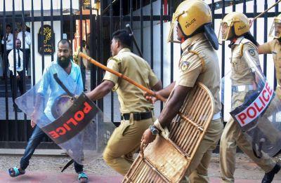 Sabarimala Row: Kerala tense as Hindu outfits call for statewide shutdown today
