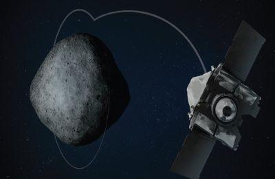NASA's Osiris-Rex spacecraft orbits around asteroid Bennu