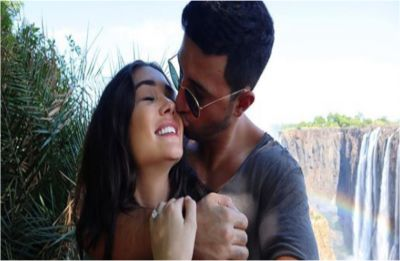 Amy Jackson gets ENGAGED, shares an adorable photo with fiancé George Panayiotou