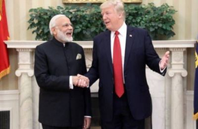 Oh, thank you for the library: Donald Trump mocks PM Modi over funding project in Afghanistan