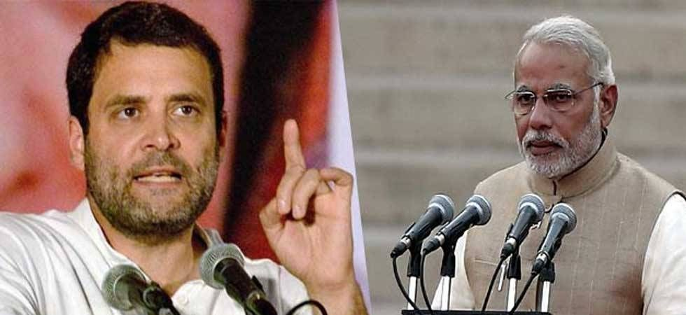 In his Lok Sabha speech, Rahul Gandhi attacked PM Modi and said 'entire nation' was asking him a direct question on the Rafale fighter jets deal. (File photo)