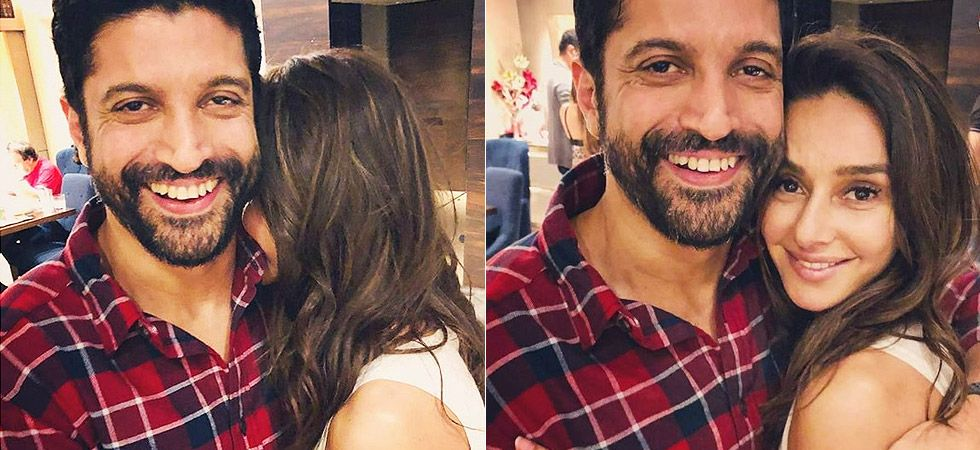 Farhan Akhtar and Shibani Dandekar are currently living their 'dream' moment with each other./ Image: Instagram
