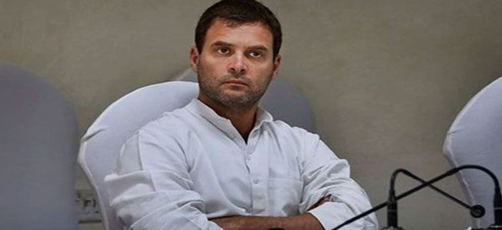 Rahul Gandhi said PM Modi's interview was staged (File Photo: PTI)