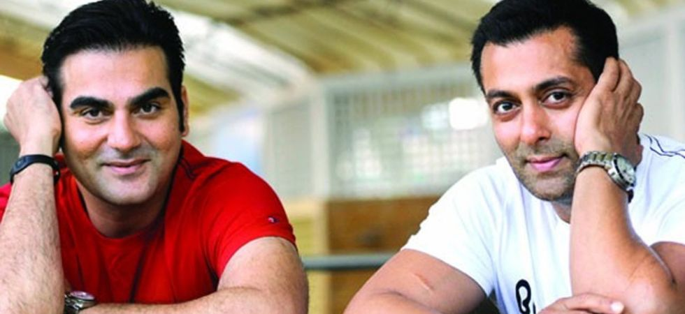 Arbaaz Khan and Salman Khan./ Image:Twitter