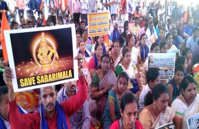 Sri Lankan woman of menopause age climbs steps at Sabrimala, wasn't allowed to pray inside