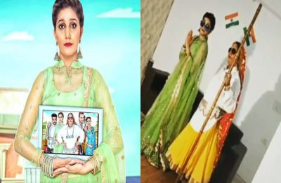 Watch: Sapna Chaudhary's desi avatar from the sets of Chachi Ram Ram is what you need to see today