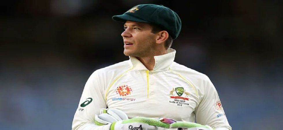 Tim Paine had a hilarious moment during the press conference which lifted the mood for Australia after a tough day in Sydney. (Image credit: Twitter)
