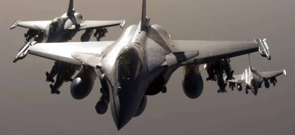 Rafale is a French twin-engine, canard delta wing, multirole fighter aircraft designed and built by Dassault Aviation. (Photo sourced from Dassault Aviation's official site)