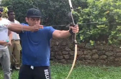 WATCH Salman Khan as real Robin Hood Pandey, shows off his hidden archery skills