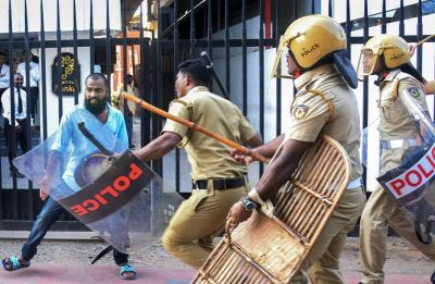 Kerala on boil over Sabarimala; shops, houses of RSS-BJP, Left leaders attacked