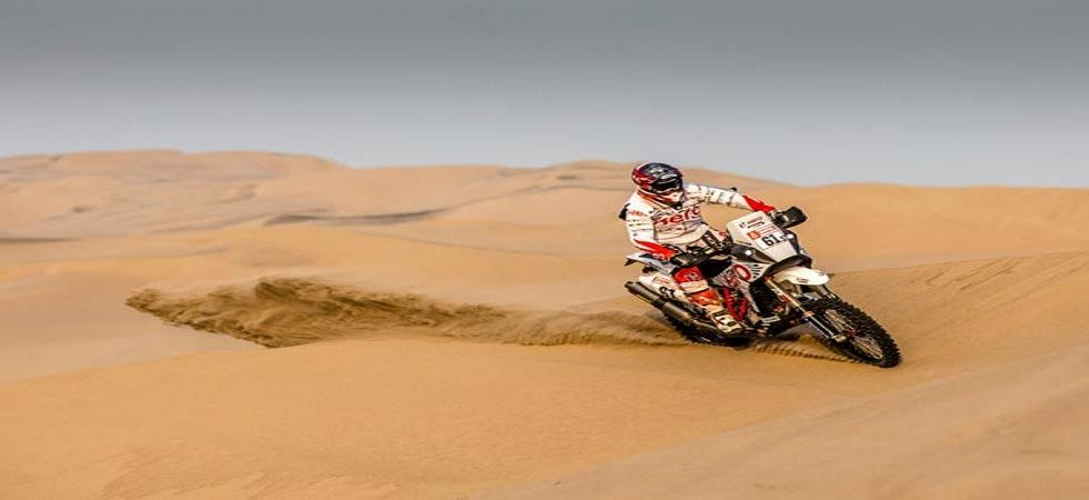 CS Santosh, Joaquim Rodrigues and Oriol Mena are participating in the three-member Hero MotoSports Team.