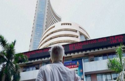Sensex builds on gains, rises 288 points; Nifty claims 10,800 mark