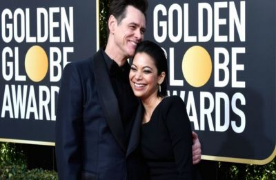 Jim Carrey dating 'Kidding' co-star Ginger Gonzaga, makes their red-carpet debut as a couple