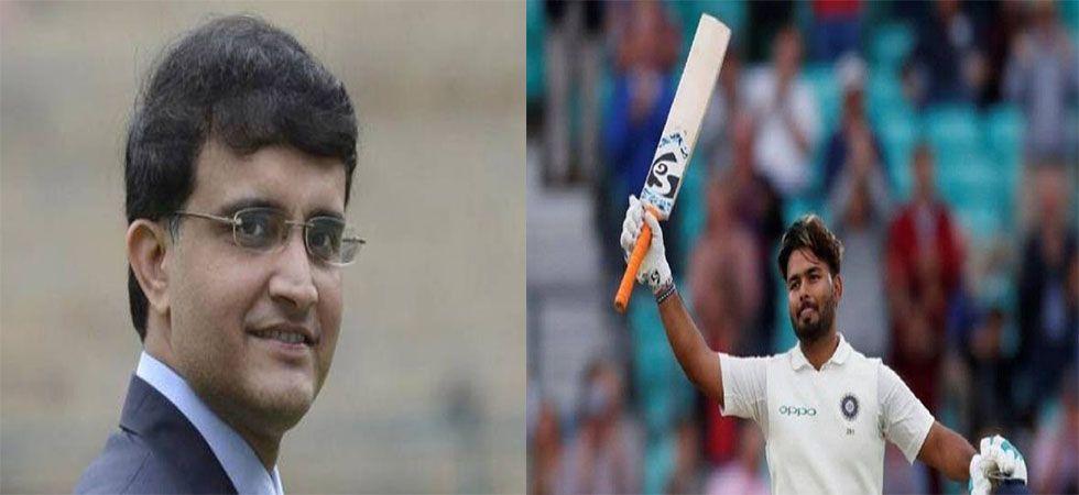Sourav Ganguly applaudes Rishabh Pant (Twitter)