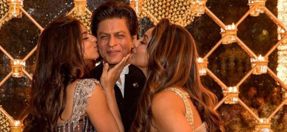 Shah Rukh Khan with wife Gauri and daughter Suhana,/ Image: Instagram