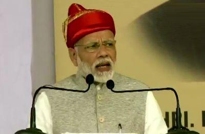 Forward Quota Bill will ensure 'sabka sath sabka vikas', says PM Modi in Maharashtra's Solapur