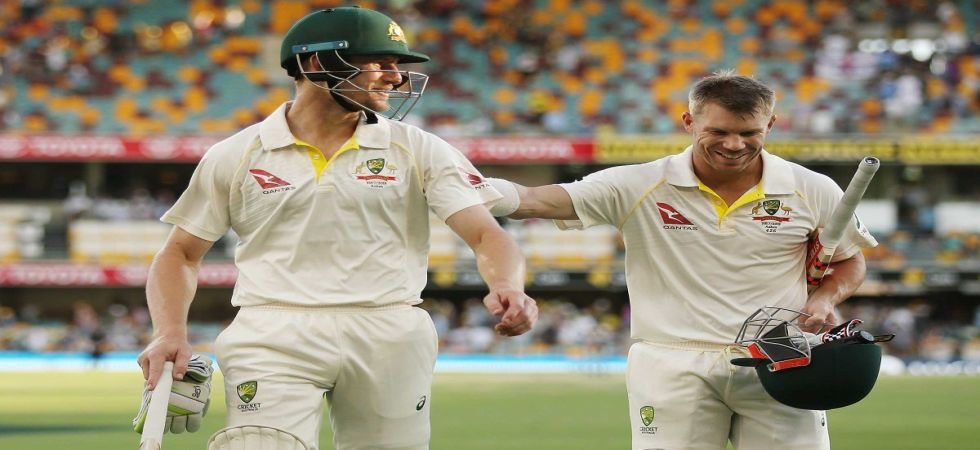 Cameron Bancroft has said he is in touch with David Warner and Steve Smith in the aftermath of the ball-tampering scandal. (Image credit: Cricket Australia Twitter)
