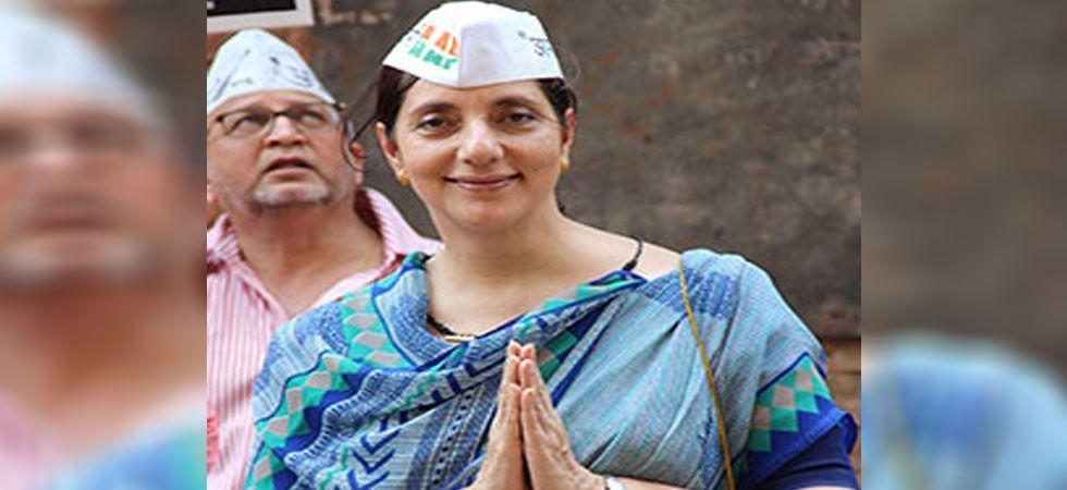 Aam Aadmi Party (AAP) member Meera Sanyal